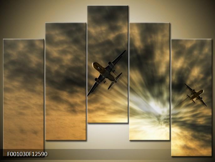 Modern festmények a falra